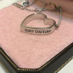 Juicy Couture Silver Heart
